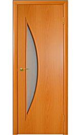 Луна ПО (миланский орех) межкомнатная дверь