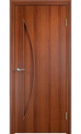 С-6 луна (итальянский орех) межкомнатная дверь
