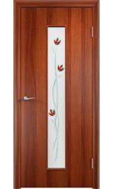 с 17 фьюзинг (Итальянский орех) межкомнатная дверь