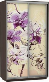 Фото дуо цветы 140*240*60 венге сборка в подарок