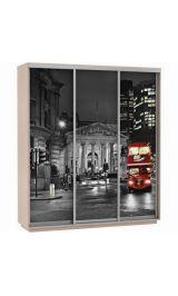 Фото трио Лондон 240*220*60 Ясень шимо светлый сборка в подарок