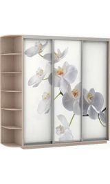 Фото трио орхидеи 240*220*60 дуб молочный сборка в подарок