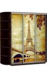 Фото трио Париж 180*240*60 венге сборка в подарок