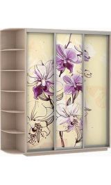 Фото трио цветы 240*220*60  дуб молочный сборка в подарок