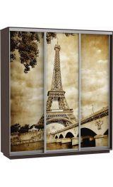 Фото трио Париж 240*220*60 венге сборка в подарок