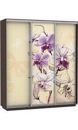 Фото трио цветы 240*220*60 венге сборка в подарок