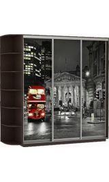 Фото трио Лондон 240*240*60 венге сборка в подарок