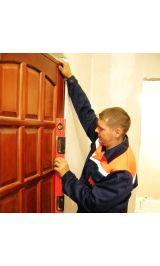 Установка межкомнатных дверей (ламинированных)