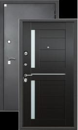 Алмаз 11 Каштан S-4/Шелк металлическая входная дверь