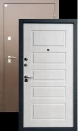 Алмаз 11 Капучино 132/Капучино металлическая входная дверь