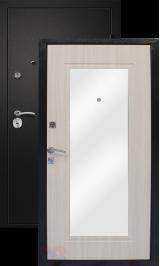 Алмаз 11 Св Дуб Z106/Шелк с зеркалом металлическая входная дверь