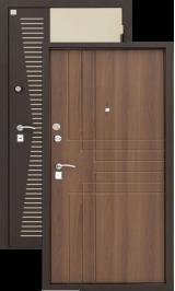 Алмаз Н-7 NEW орех металлическая входная дверь