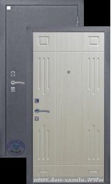 Алмаз Гранат Светл Дуб/Серебро металлическая входная дверь