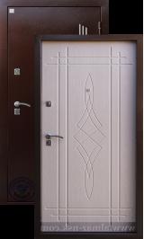 Алмаз Лазурит 3 металлическая входная дверь