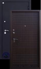 Алмаз венге металлическая входная дверь