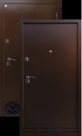 Алмаз Яшма 11 (1 замок) металлическая входная дверь