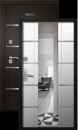 Космо Кассиопея Венге/Дуб кантри 186 Зеркало металлическая входная дверь