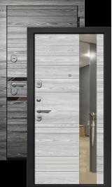 Орфей 611 Графит/Айс металлическая входная дверь