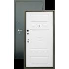Алмаз Турмалин белый софт металлическая входная дверь