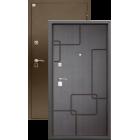 Алмаз Турмалин Венге 133/Крокодил металлическая входная дверь