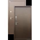 Алмаз Яшма ТЕРМО Медь (терморазрыв на полотне и коробе) металлическая входная дверь