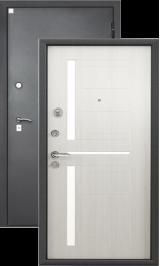 Алмаз 11 (Черный шелк/светлый дуб) входная дверь 860 пр уценка