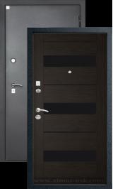 Алмаз 11 Кипарис темный/Шелк металлическая входная дверь