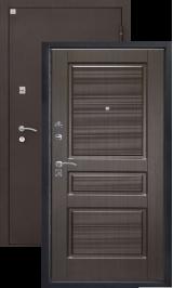 Алмаз 11 Венге 93/Шелк металлическая входная дверь