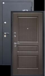 Алмаз Аметист Венге 97/Шелк бордо металлическая входная дверь