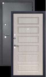 Алмаз Циркон Белёный дуб металлические входные двери в квартиру установка и доставка в подарок