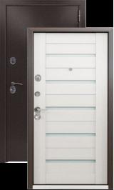KVADRA-3K Белый венге металлическая входная дверь