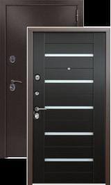 KVADRA-3K Венге металлическая входная дверь
