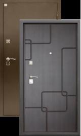 Алмаз Турмалин Венге 133/Шелк бордо металлическая входная дверь
