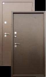 Алмаз Яшма Тепло Г-3001/Медь (терморазрыв на полотне) металлическая входная дверь