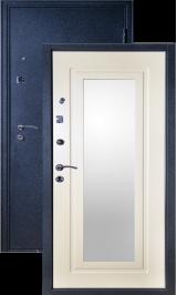 Фактор 6 с зеркалом металлическая входная дверь