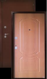 Аргус лайт классика (миланский орех) металлическая входная дверь