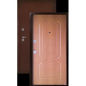 Аргус лайт классика (миланский орех) металлические входные двери