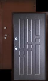 Аргус лайт квадро (венге) металлическая входная дверь