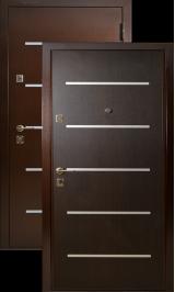 Бульдорс - 9 Lazer металлическая входная дверь