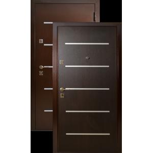 Бульдорс - 9 Lazer металлические входные двери