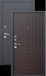 Гарда муар 7,5 мм венге металлическая входная дверь