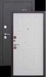 Турин Муар белый ясень металлическая входная дверь
