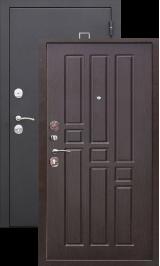 Турин Муар Венге металлическая входная дверь