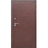 Гарда 8мм Антик медь/Рустикальный дуб металлическая входная дверь