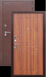 Гарда Антик медь/Рустикальный дуб металлическая входная дверь