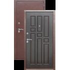 Гарда Антик медь/Венге металлическая входная дверь