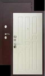 Гарда Антик медь/Ясень белый металлическая входная дверь