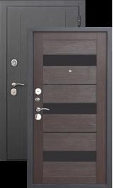 Гарда 7.5 см Муар Черный шелк/Венге металлическая входная дверь