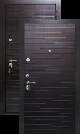 GOTLAND венге металлическая входная дверь