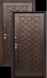 Kamelot Винорит - вишня темная металлическая входная дверь